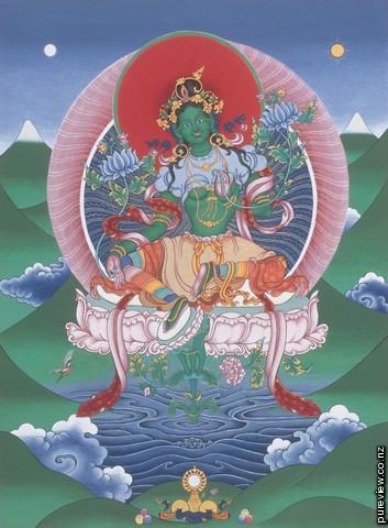Position Of Women In Tibetan Buddhism Green-tara-medium