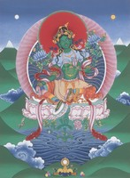 Green Tara - click to enlarge