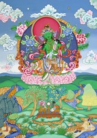 Green Tara 2 - click to enlarge