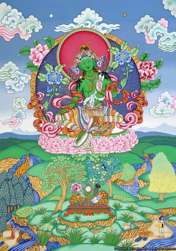 Green Tara 3
