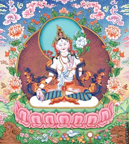 Position Of Women In Tibetan Buddhism White-tara-medium
