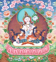 White Tara - click to enlarge